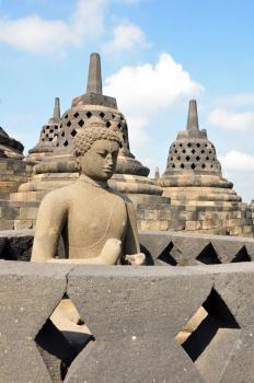 Borobudur by Frederik Dawson