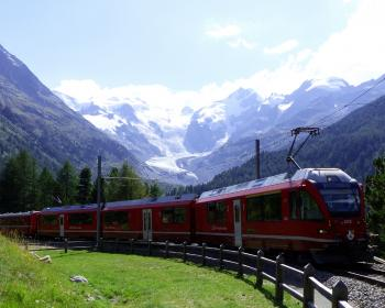 Rhaetian Railway by Solivagant
