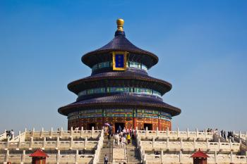 Temple of Heaven by Michael Turtle