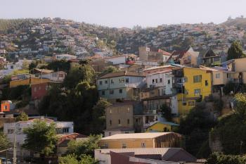 Valparaiso by Michael Turtle