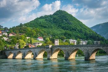 Mehmed Paša Sokolović Bridge by Gary Arndt