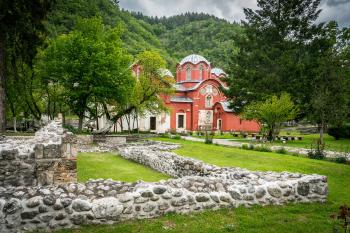 Medieval Monuments in Kosovo by Gary Arndt
