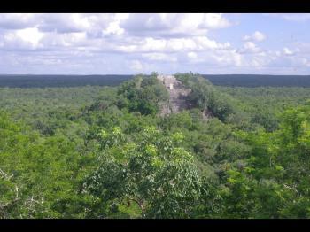 Calakmul by Thibault Magnien
