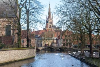 Brugge by Michael Turtle