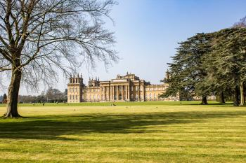 Blenheim Palace by Michael Turtle