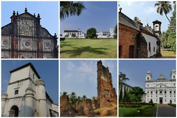 Churches and Convents of Goa by Clyde