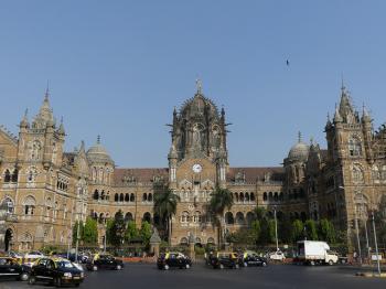 Chhatrapati Shivaji Terminus by Clyde