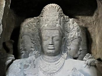 Elephanta Caves by Clyde
