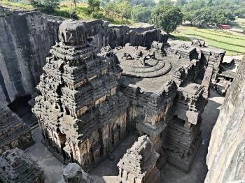 Ellora Caves by Clyde
