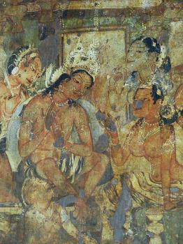 Ajanta Caves by Clyde