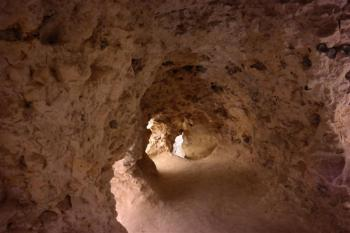 Neolithic Flint Mines at Spiennes by Kbecq
