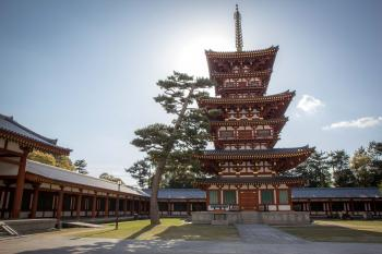 Ancient Nara by Michael Turtle