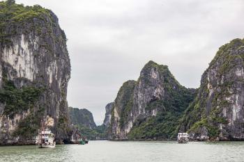 Ha Long Bay by Michael Turtle