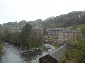 New Lanark by Allan Berry
