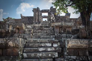Preah Vihear Temple by Michael Turtle