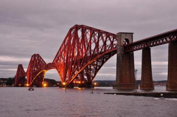 Forth Bridge by Frederik Dawson