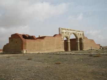 Qasr Al-Mushatta (T) by Wojciech Fedoruk