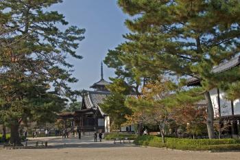 Horyu-ji Area by Gary Arndt