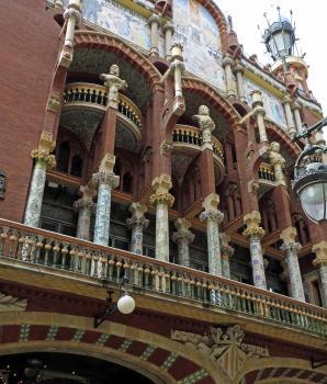 Palau de la Musica Catalana & Hospital de Sant Pau by Jay T