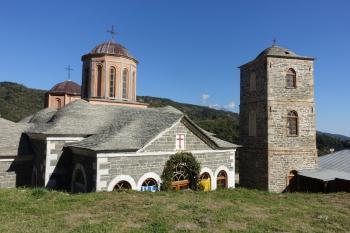 Mount Athos by nan