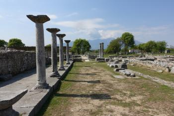 Archaeological site of Philippi by nan