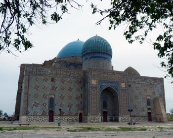 Mausoleum of Khoja Ahmed Yasawi by Solivagant