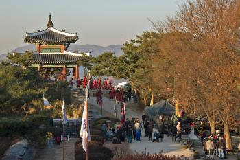 Hwaseong Fortress by Gary Arndt