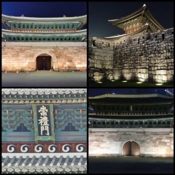 Seoul City Wall (T) by Clyde
