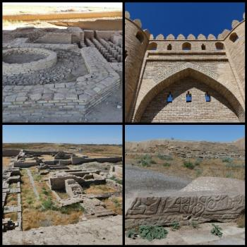 Archaeological sites of Otrar oasis (T) by Clyde