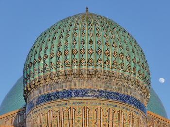 Mausoleum of Khoja Ahmed Yasawi by Clyde