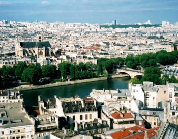Paris, Banks of the Seine by Jay T