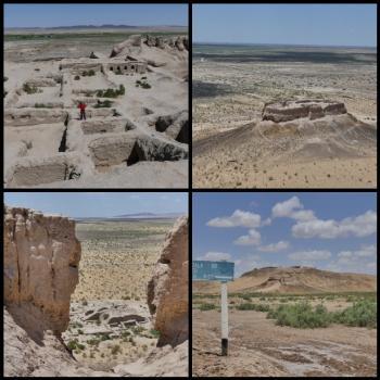 Desert Castles of Ancient Khorezm (T) by Clyde