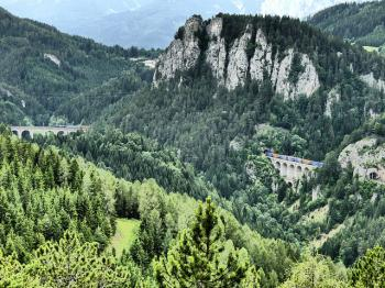 Semmering Railway by Clyde