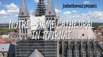 Notre-Dame Cathedral in Tournai by Joel Baldwin