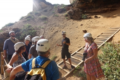 Gorham's Cave Complex by Nan