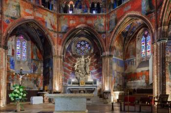Routes of Santiago de Compostela in France by Ilya Burlak