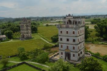 Kaiping Diaolou by Michael Novins