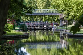 Canal du Midi by Ilya Burlak