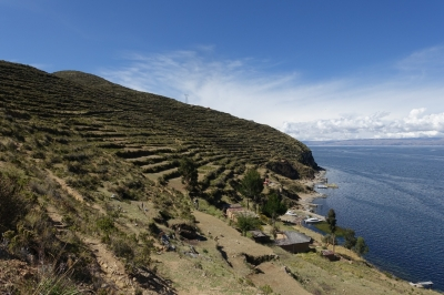 Sacred Titicaca Lake (T) by Nan