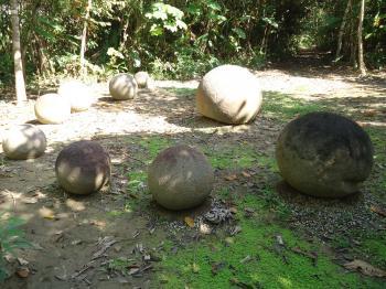 Stone Spheres of the Diquís by Jarek Pokrzywnicki