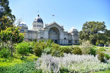 Royal Exhibition Building by Frederik Dawson