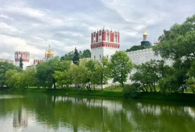 Novodevichy Convent by Yuri Samozvanov