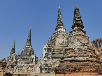 Ayutthaya by Clyde