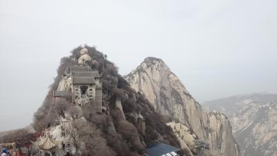 Hua Shan Scenic Area (T) by Zoe Sheng