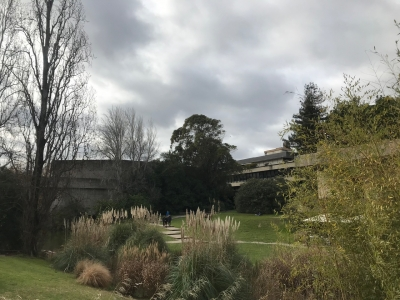 Head Office and Garden of the Calouste Gulbenkian Foundation  (T) by Caspar Dechmann