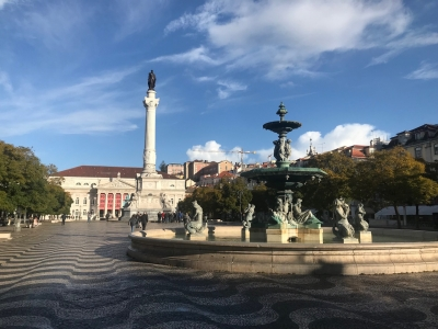 Pombaline Lisbon (T) by Caspar Dechmann
