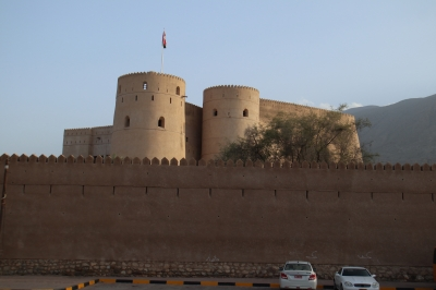 The forts of Rostaq and al-Hazm (T) by Martina Ruckova