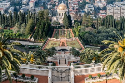 Bahá'i Holy Places by Gary Arndt