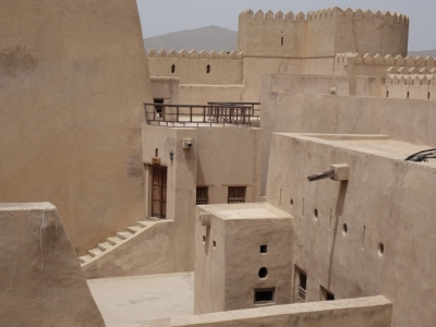 The forts of Rostaq and al-Hazm (T) by Els Slots