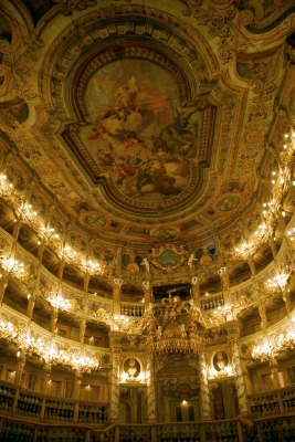 Margravial Opera House by Hubert